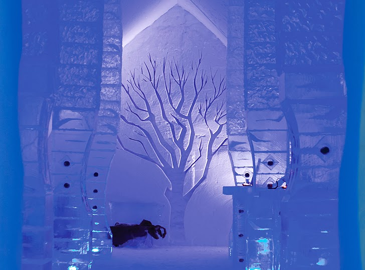 Design snow and ice art for Design hotel quebec