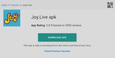 joy live apk live streaming gratis