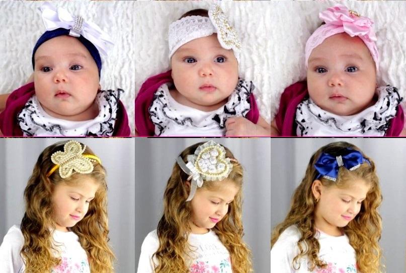 Modelos de Tiaras Para Bebês