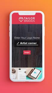 Aplikasi Membuat Logo Tailor Brands