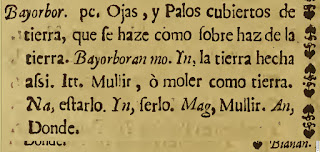 Taken from Vocabulario de la Lengua Tagala.