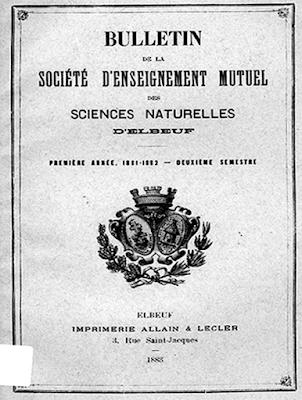 1881 et 1887 : des botanistes elbeuviens dans la vallée de l'Andelle