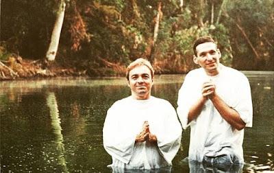 imagem de Padre Marcelo Rossi e Gugu Liberato