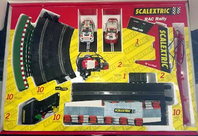 Caja del Scalextric RAC Rally Tecnitoys Versión 2000