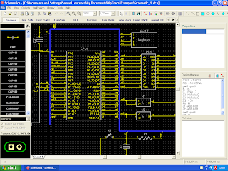 Editor de diagramas esquemáticos do DipTrace 2.3.