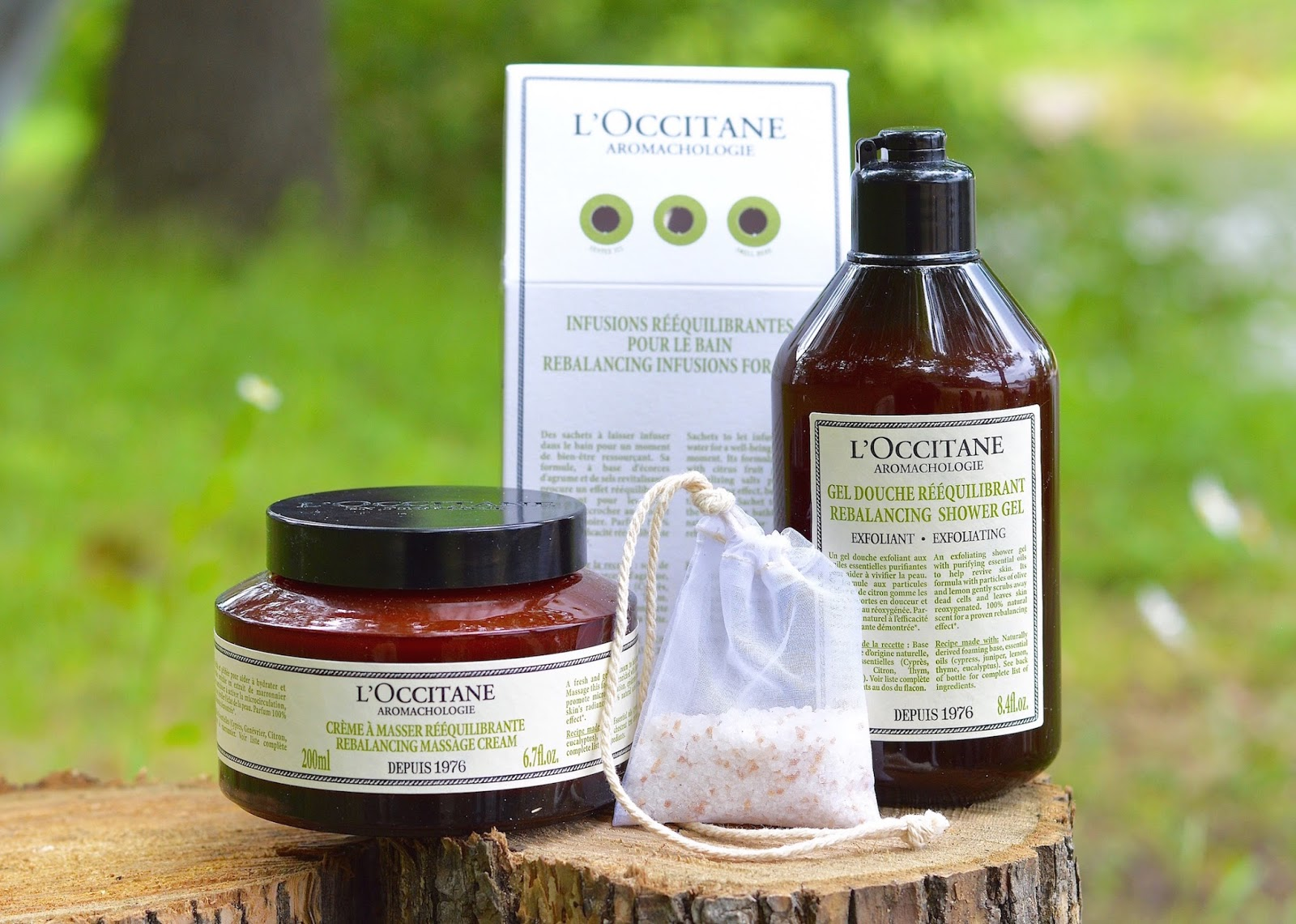 aromatherapy body l'occitane