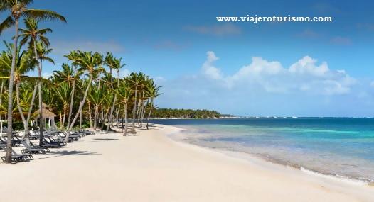 Playa Bavaro en la República Dominicana, viajes y turismo