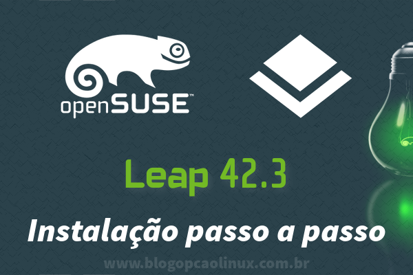 Passo a passo de instalação do openSUSE Leap 42.3