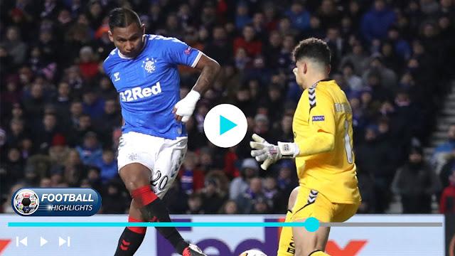 Rangers vs Sporting Braga – Highlights