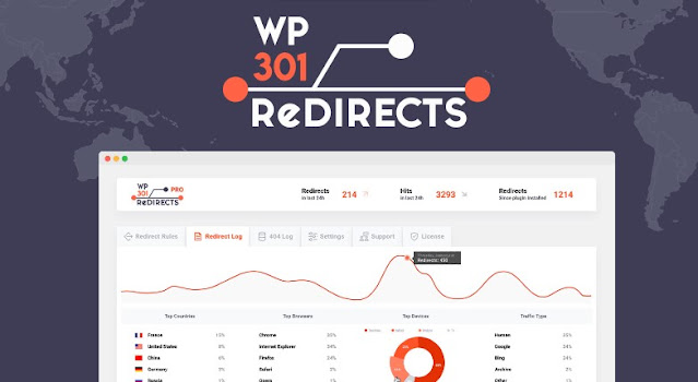 WP 301 Redirects Pro v5.69 nulled