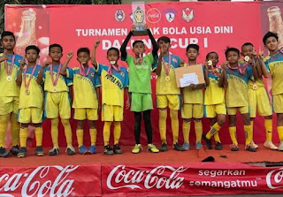 Oleh oleh dari Bali, putra Panji juara Dalung Cup 1 2019