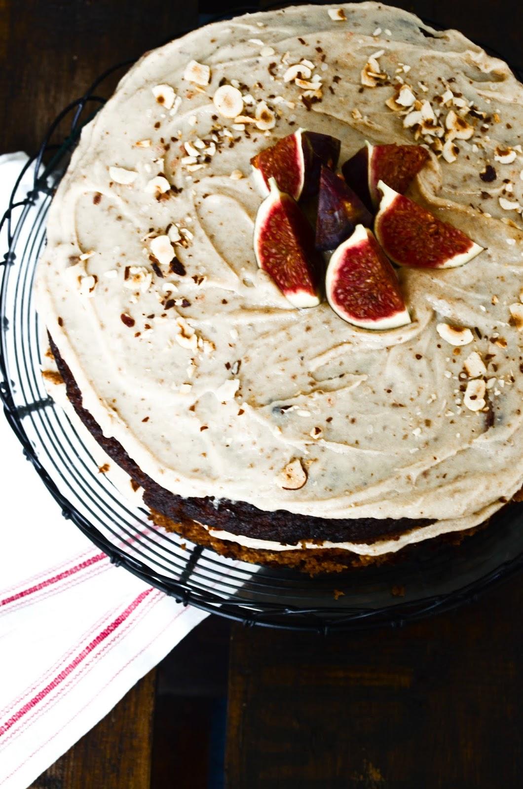 Country Beehive: Harvest Cake with Vanilla Cream : Simple ...