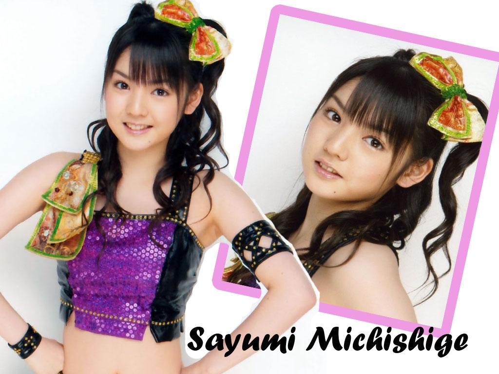 Asian Celebrity Wallpaper: Sayumi Michishige Wallpaper