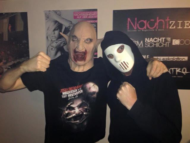 Noisekick - Angerfist  Terror vs Hardcore #PMRC PunkMetalRap.com