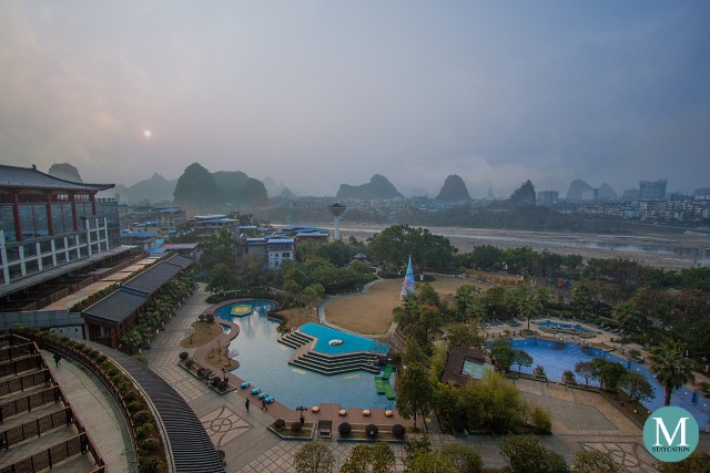 View from Shangri-La Hotel Guilin