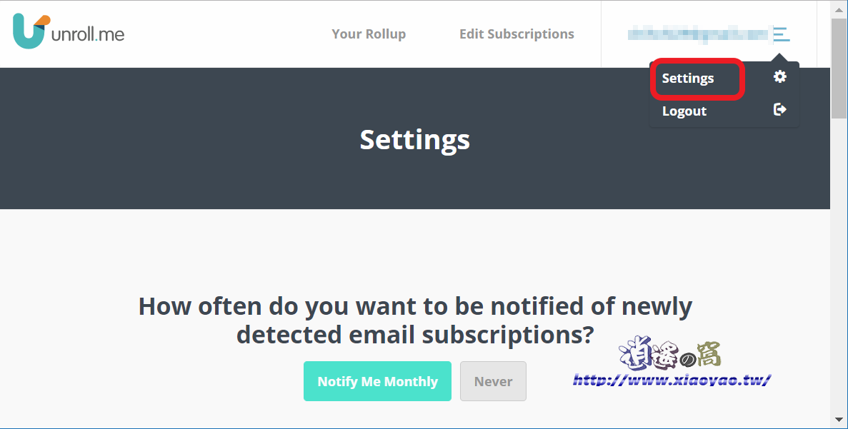 Unroll.me 清理 E-mail 信箱