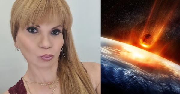 ¿Grave destrucción? Mhoni Vidente dicen que tendremos terremotos y caída de meteorito