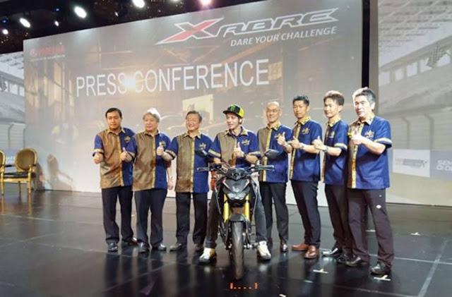 Peluncuran Yamaha Xabre 150cc Indonesia