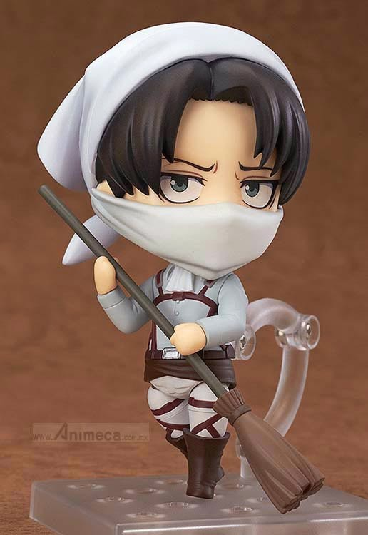 LEVI Cleaning Ver. NENDOROID FIGURE Shingeki no Kyojin GOOD SMILE COMPANY