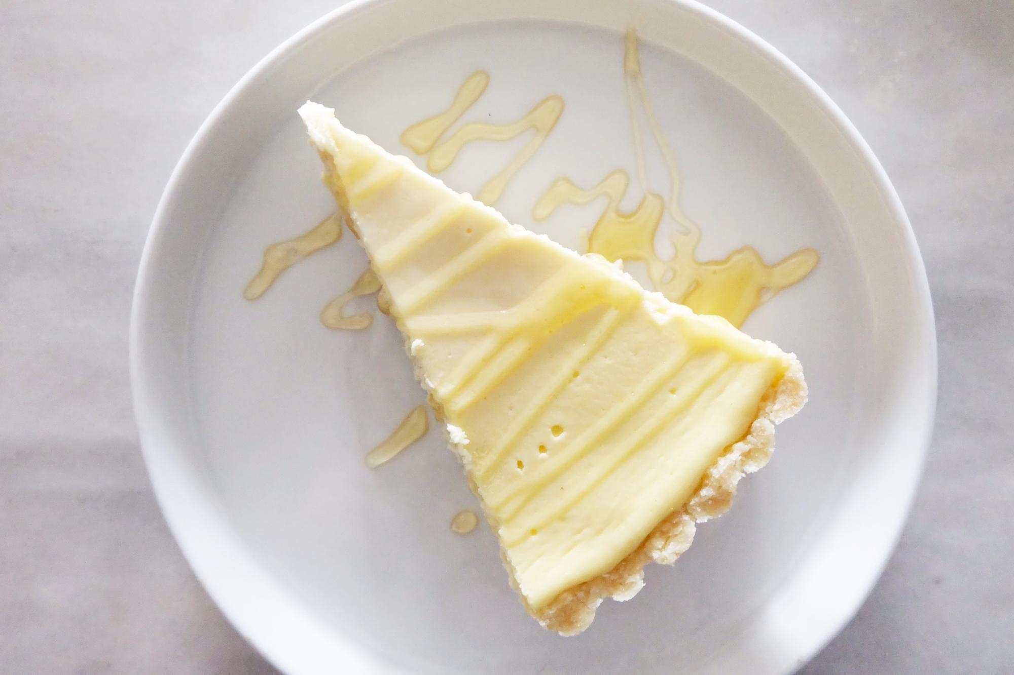 Greek yogurt cheesecake tart