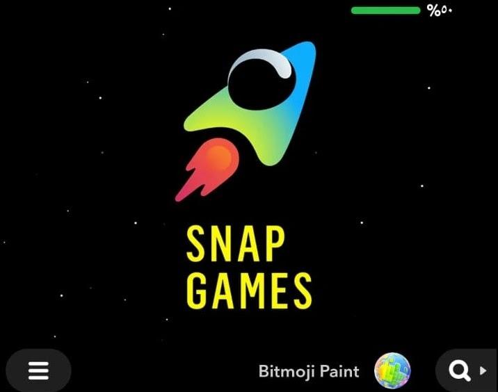 لعبة سناب شات Bitmoji Paint SnapChat الجديدة