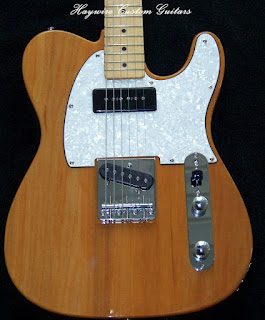 image result for a Custom Shop Telecaster with P-90 neck pickup from Haywire Custom Guitars