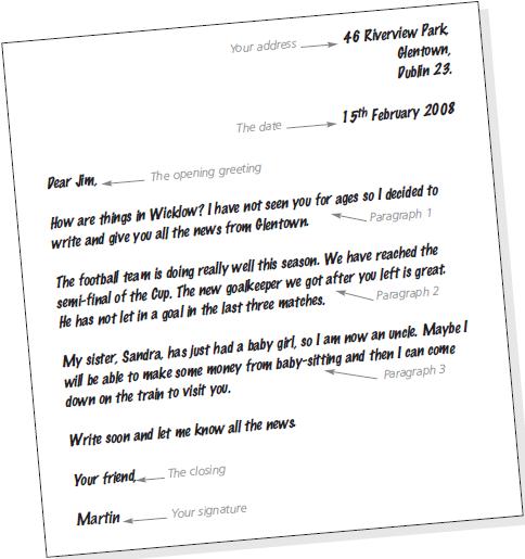 Contoh Surat Pribadi Dalam Bahasa Inggris Ilhamanjir