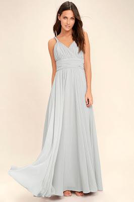 vestidos formales sin escote