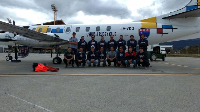 Ushuaia Rugby Club parte en busca de hacer historia