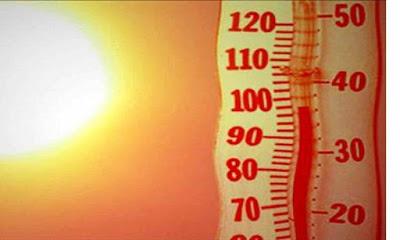 حالةالطقس, درجات الحرارة,