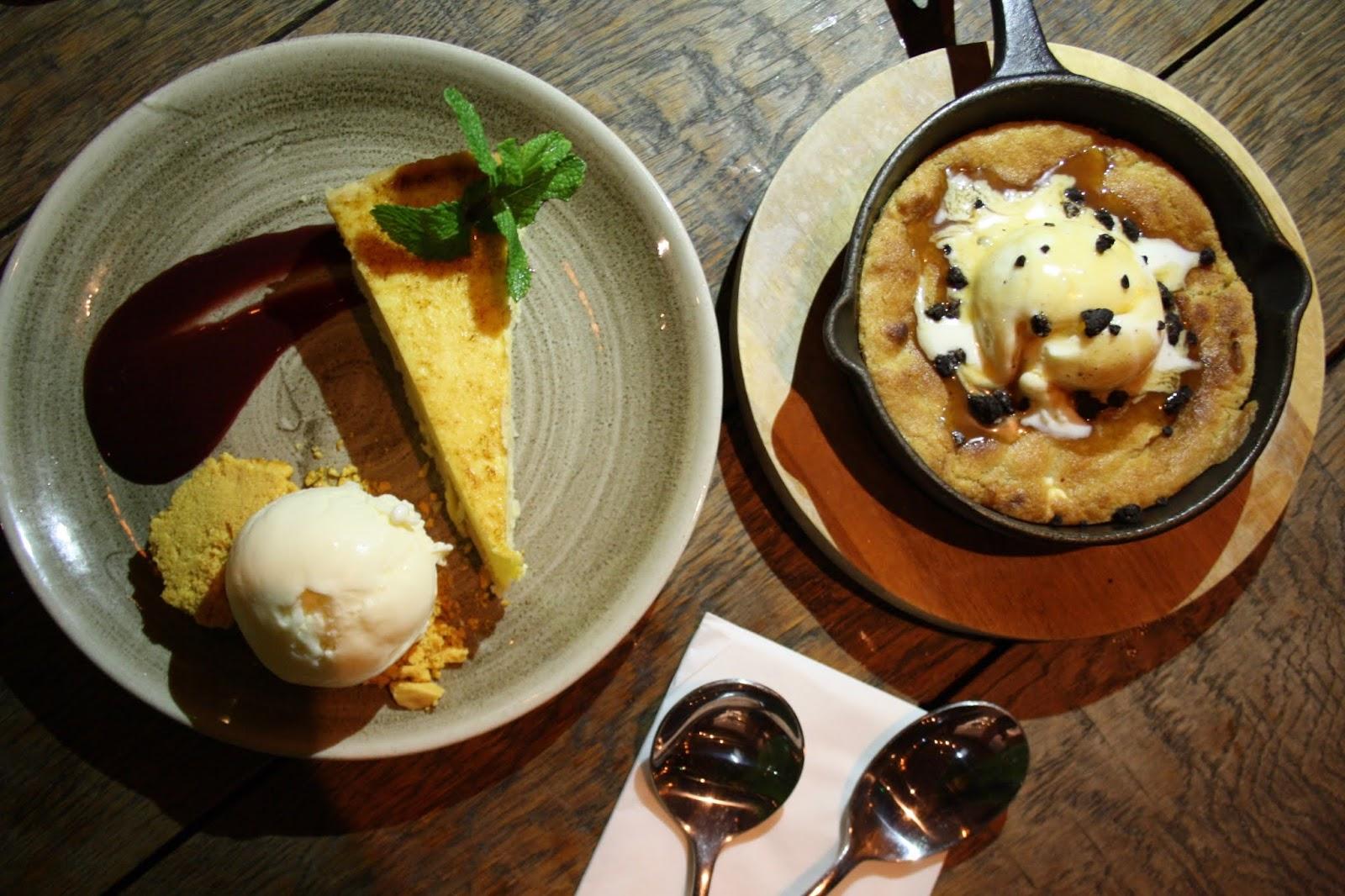 The Botanist review lemon tart cookie dough