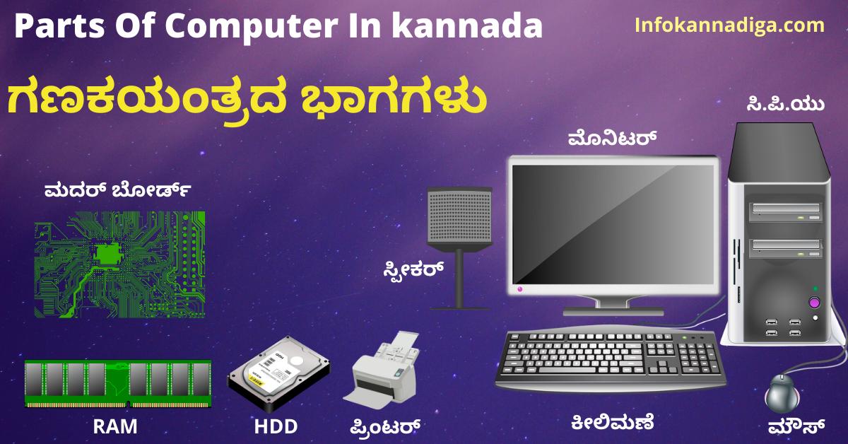 Computer Details In Kannada
