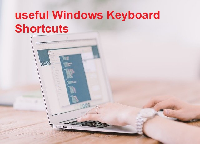 The most useful Windows Keyboard Shortcuts – Tips & Tricks