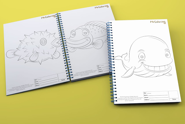 printable fish template outline coloriage Blank coloring pages books pdf pictures to print out for kids to color fun colouring page kindergarten