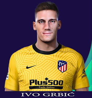 PES 2021 Faces Ivo Grbić by Rachmad ABs