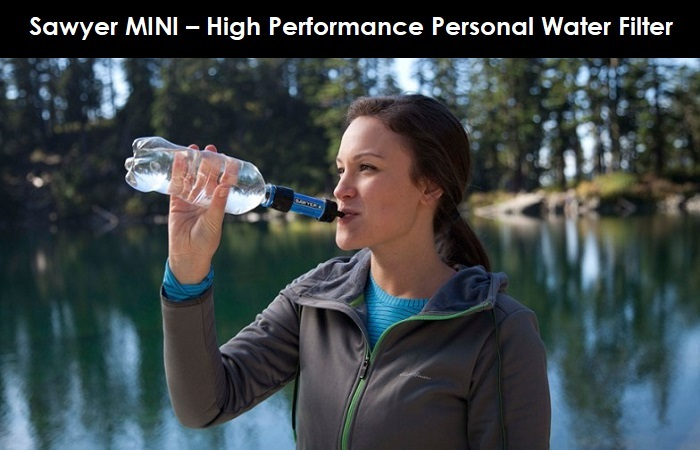 Sawyer MINI – High Performance Personal Water Filter