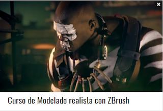 Curso de Modelado realista con ZBrush