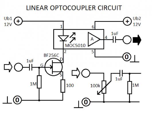 Circuit Diagram Linear Optocoupler Circuit Diagram Linear