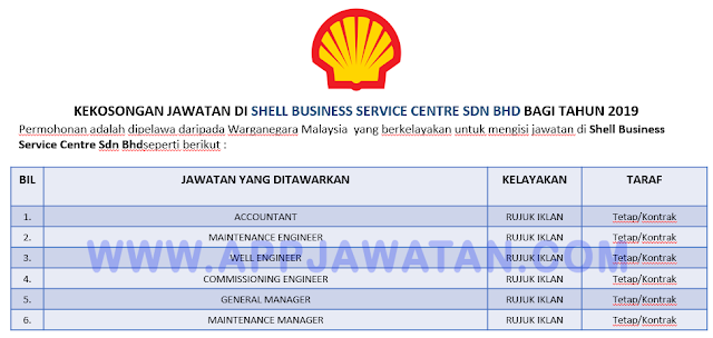 Shell Business Service Centre Sdn Bhd
