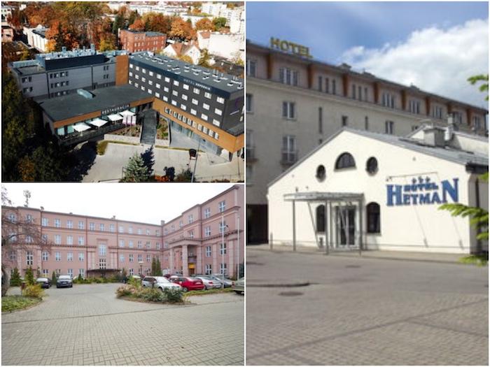 Hotel Reymont w Łodzi, Hotel Hetman w Rzeszowie, Hotel Kopernik w Olsztynie, Best Western, Hotele,