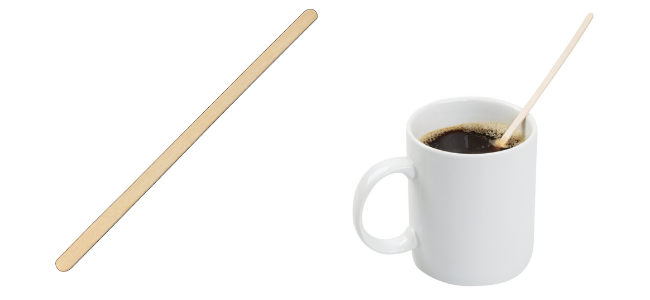 Biodegradable Coffee Stirrers