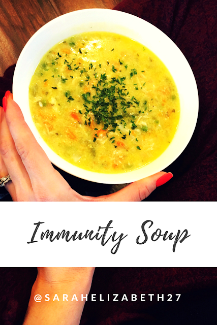 vital proteins, immunity foods, immune boosting foods, chicken stew, gluten free soups, sarah griffith, bone broth soup,