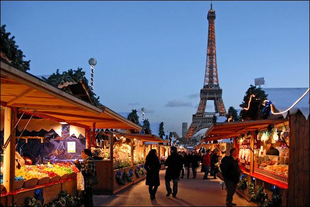 Mercado de Natal, Paris