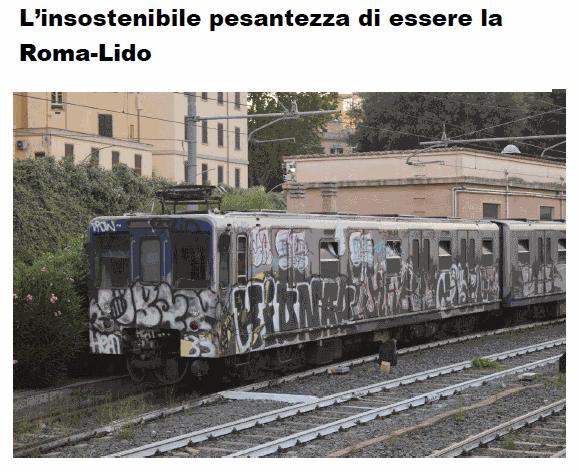 L'insostenibile pesantezza di essere la Roma-Lido