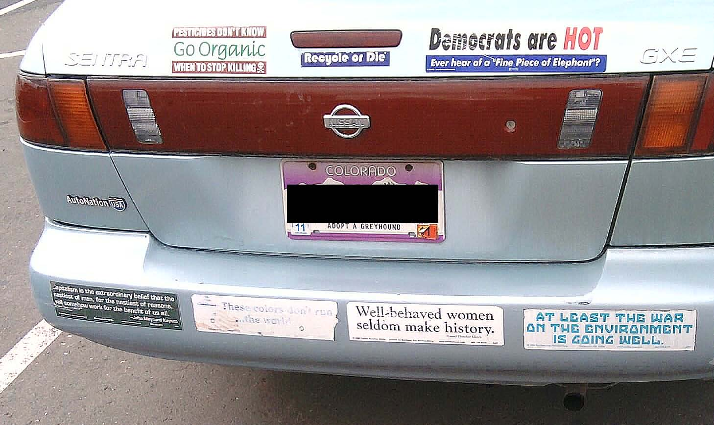 these bumper stickers do run. Black Bedroom Furniture Sets. Home Design Ideas