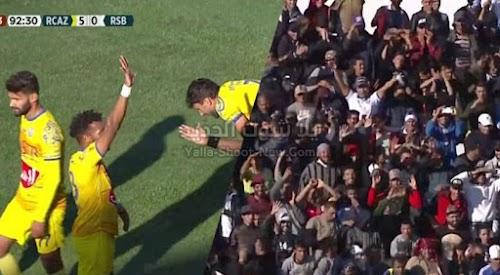 سقوط كبير لنادي نهضة بركان امام فريق نهضة الزمامرة بخماسية في الدوري المغربي