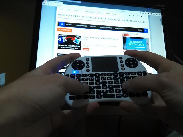 Bežična tastatura za Smart televizore