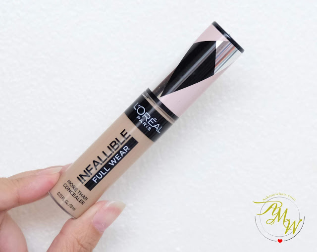 a photo of L'Oreal Infallible Full Wear Concealer review by Nikki Tiu of askmewhats.com