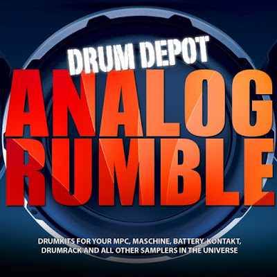 Free Analog Rumble 19 free drum kits for electronic music