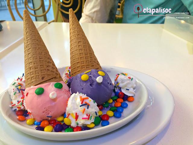 Ernie and Bert Ice Cream, Ermie and Bert Ice Cream